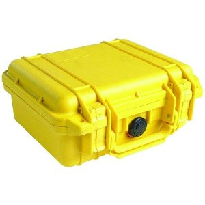 Pelican 1200 Case w/Foam (Yellow)