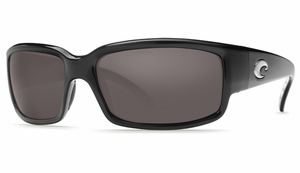 Costa 580 Caballito Sunglasses: Black / Grey - MFG#CL-11-OGP