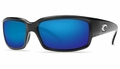 Costa Caballito Sunglasses: Black / Blue Mirror - MFG#CL-11-BMGLP