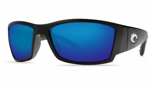 Costa 580 Corbina Sunglasses: Black / Blue Mirror - MFG#CB-11-OBMGLP