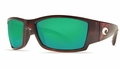 Costa Corbina Sunglasses: Tortoise / Green Mirror - MFG#CB-10-GMGLP