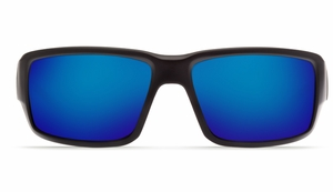 Costa 580 Fantail Sunglasses: Black / Blue Mirror - MFG#TF-11-OBMGLP