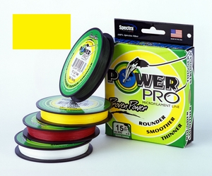 Power Pro Braid -Hi-Vis Yellow