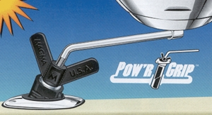 Pow&#39r Grip Fish Rod Holder Mount  A10-175