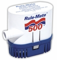Rule 24 Volt 500 GPH Automated Bilge Pump - RM500-24