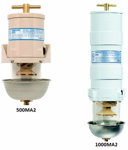 Racor Fuel Filter Water Seperators -Marine Turbine Series