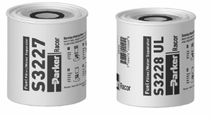 Racor Gasoline Spin-On Filter/Water Seperators
