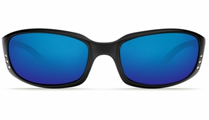 Costa Brine Sunglasses: Black / Blue Mirror - MFG#BR-11-BMGLP