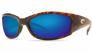 Costa Hammerhead Sunglasses: Tortoise / Blue Mirror - MFG#HH-10-BMGLP