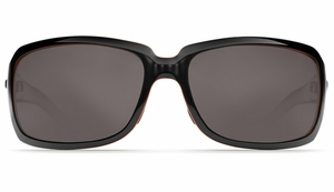 Costa Isabela Sunglasses: Black Coral / Gray - MFG#IB-32-DGP