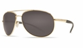 Costa Wingman Sunglasses: Gold / Gray - MFG#WM-26-Gray