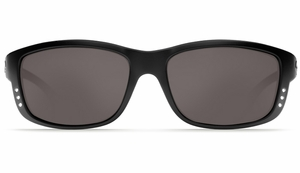 Costa Zane Sunglasses: Black / Grey - MFG#ZN-11-DGP