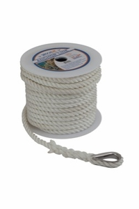 Sea-Dog Twisted Nylon Anchor Lines (White)