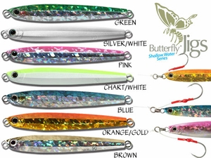 Shimano Butterfly Jigs -Shallow Water Series (Whirligig)