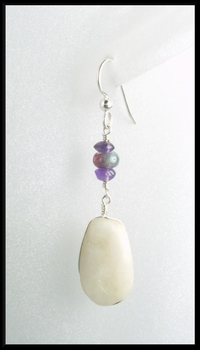 Wine on the Beach Earrings