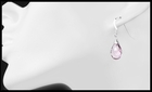 Pink Amethyst Drop Earrings