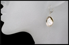 Cupped Keishi Pearl Drop Earrings