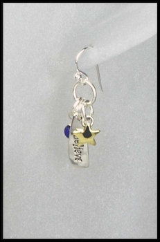 Believe Charm Earrings