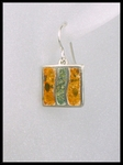 Terrazzo River Bed Earrings in Marigold