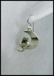 Moonbeam Kitty Earrings