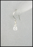 Petite Teardrop Crystal Earrings