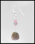 River Stone & Tourmaline Earrings