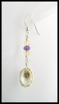 Limpit Shell and Bead Earrings