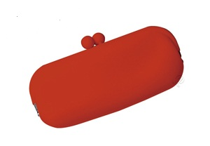 Red Eyeglass Case by Koala in Silicone