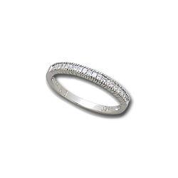 1/4 ct White Gold Diamond Anniversary Band