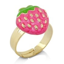 Lauren G Adams Little Girls Strawberry Ring