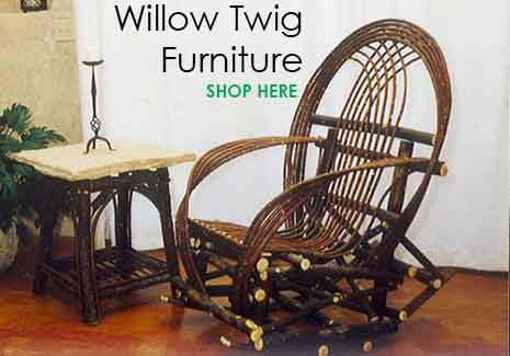 Willow Furniture - Twig Furniture