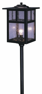 "Mission 32.5"" Pathway Light By Arroyo Craftsman"
