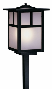 "Arroyo Craftsman Mission 21.5"" Outdoor Pathway Lighting Fixture"