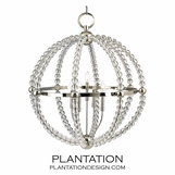 Desmond Crystal Chandelier | Polished Nickel