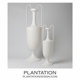 Baron Ceramic Vases No. 2 | White