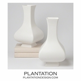 Bellamy Ceramic Vase | White