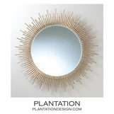 Marquis Spiky Wall Mirror | Large