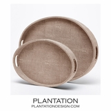 "Francis ""Shagreen"" Trays 
