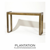 Hamlet Console Table | Antique Brass