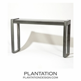 Hamlet Console Table | Antique Zinc