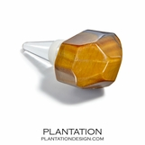 Clarita Bottle Stopper | Tiger's Eye