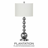 Phantom Chrome Table Lamp