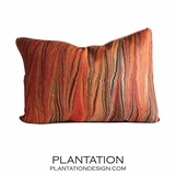 Sunset Linen Pillow | Lumbar