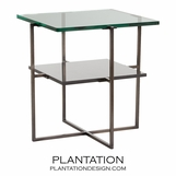 Brant Iron Side Table