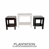 Clifton Lacquered Side Tables