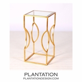 Risa Side Table | Gold