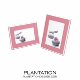 Lacquer Frame | Pink