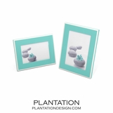 Lacquer Frames | Turquoise