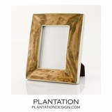 Frontier Silver & Wood Frames | Rectangle