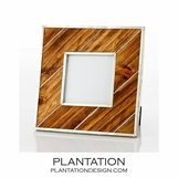 Frontier Silver & Wood Frames | Square